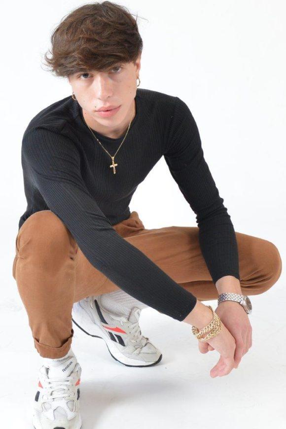 Davide modello per Art and models